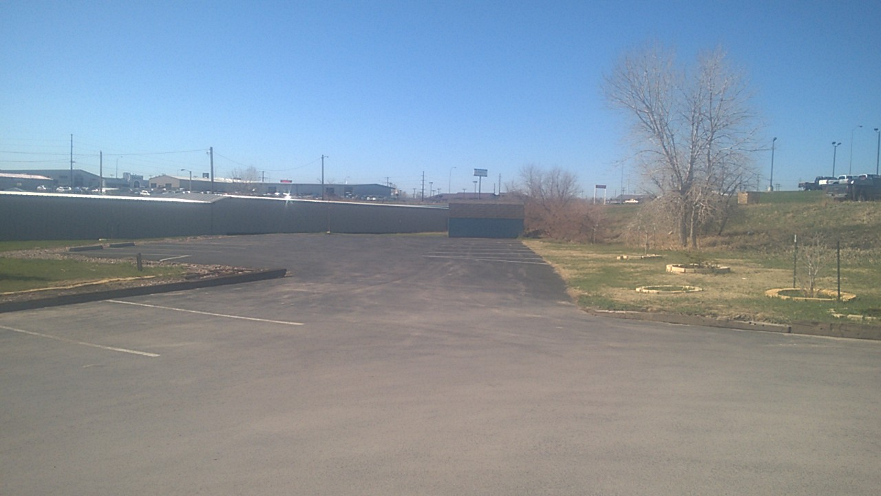 Another picture of the back lot, which is available for rent.